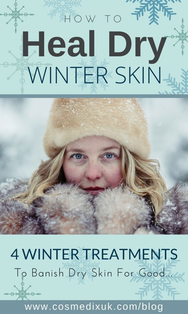 heal winter skin pinterest