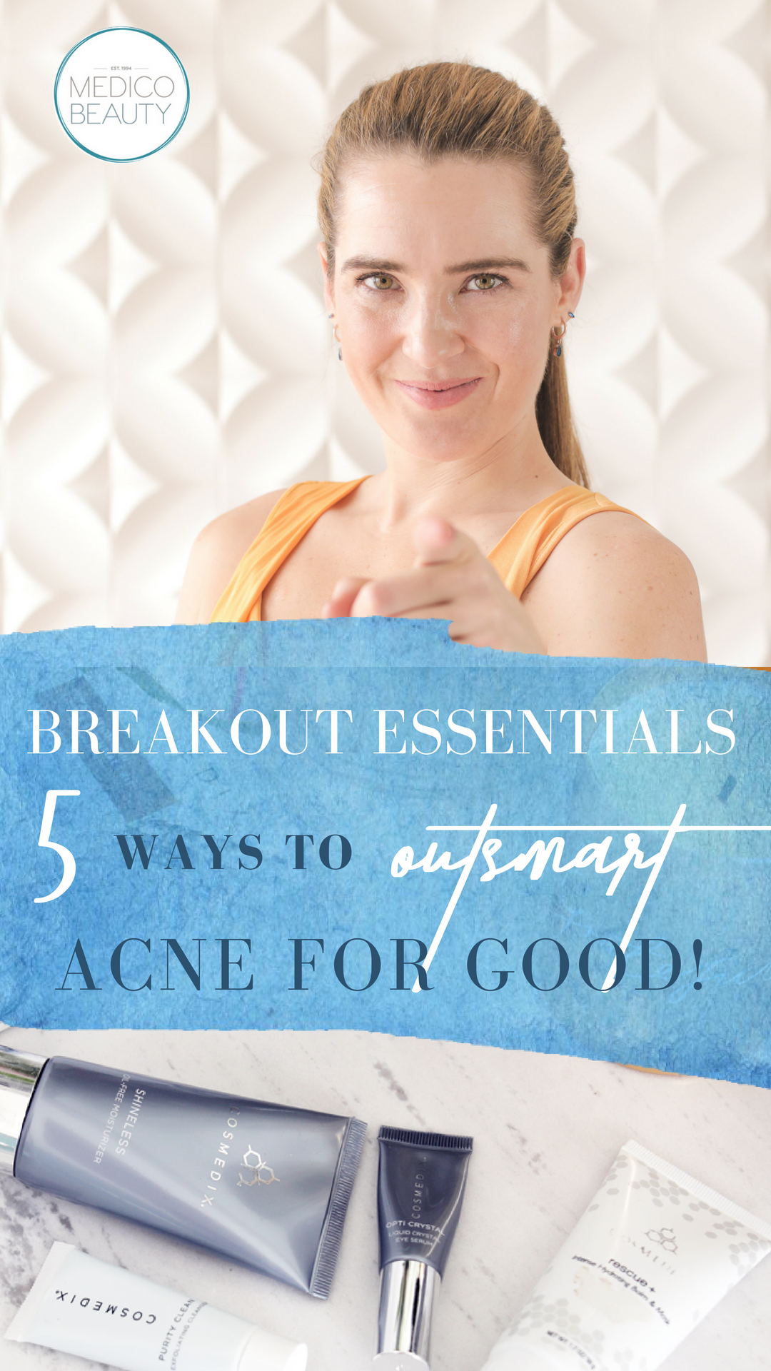 breakout essentials outsmart acne
